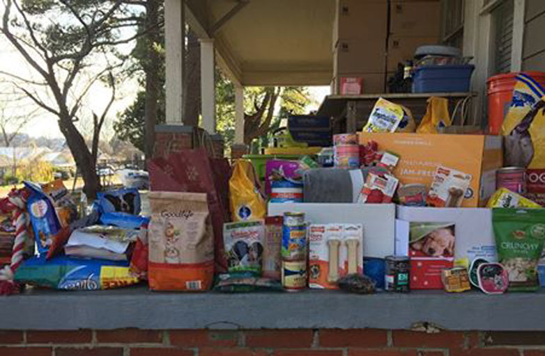 Employees Share Holiday Goodwill With Pound On The Hill Rescue Animals