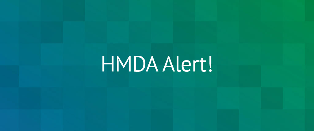 HMDA Final Rule Update For Reporting In 2020